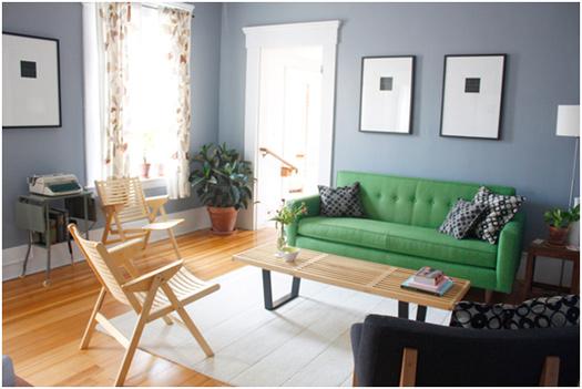 Budget Stylish Living Room
