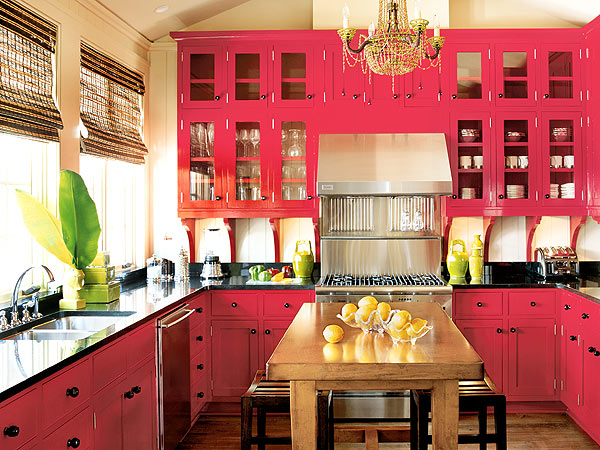 Interior design for the kitchen