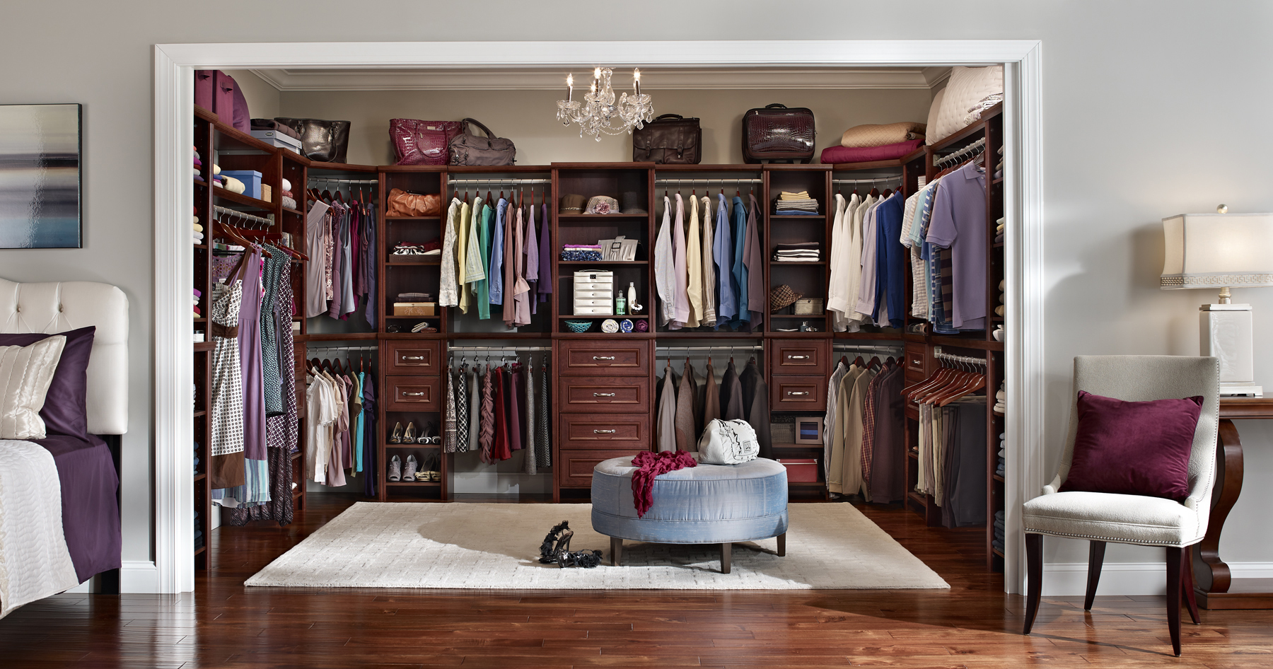 Beautiful Bedroom Closet Design Ideas Master Bedroom With Walk In ...