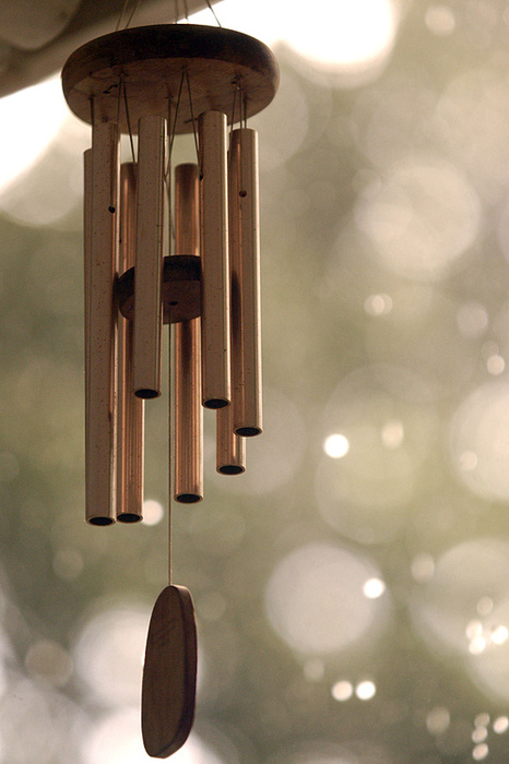 Metallic Windchimes