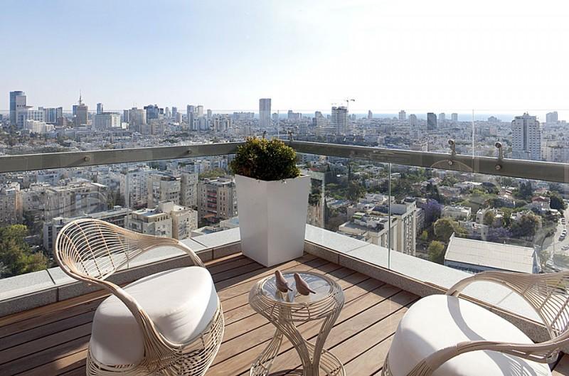 Modern beautiful apartment balcony design ideas