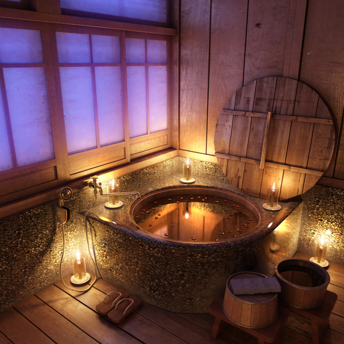 Relaxing Bathroom
