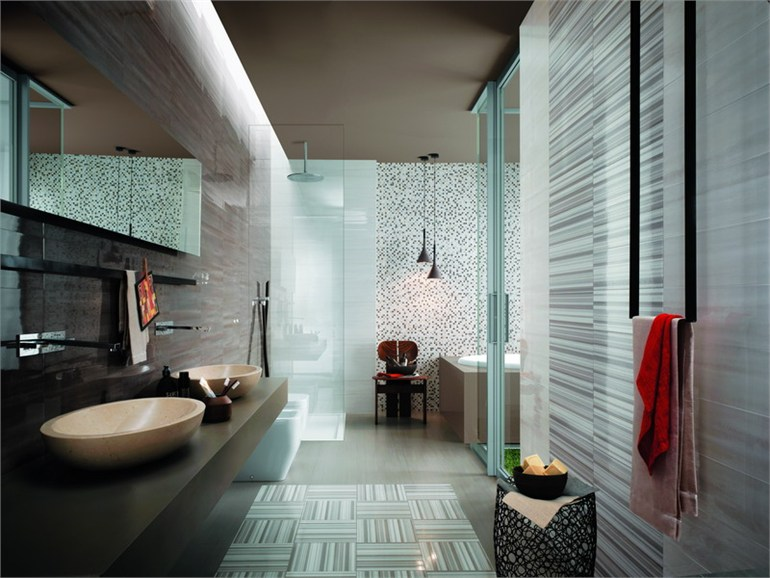 Bathroom color ideas in modern bathroom design