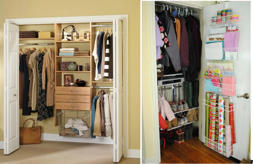 Bedrooms closet décor ideas
