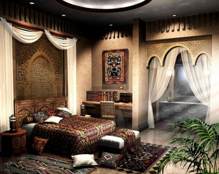 Exotic bedroom