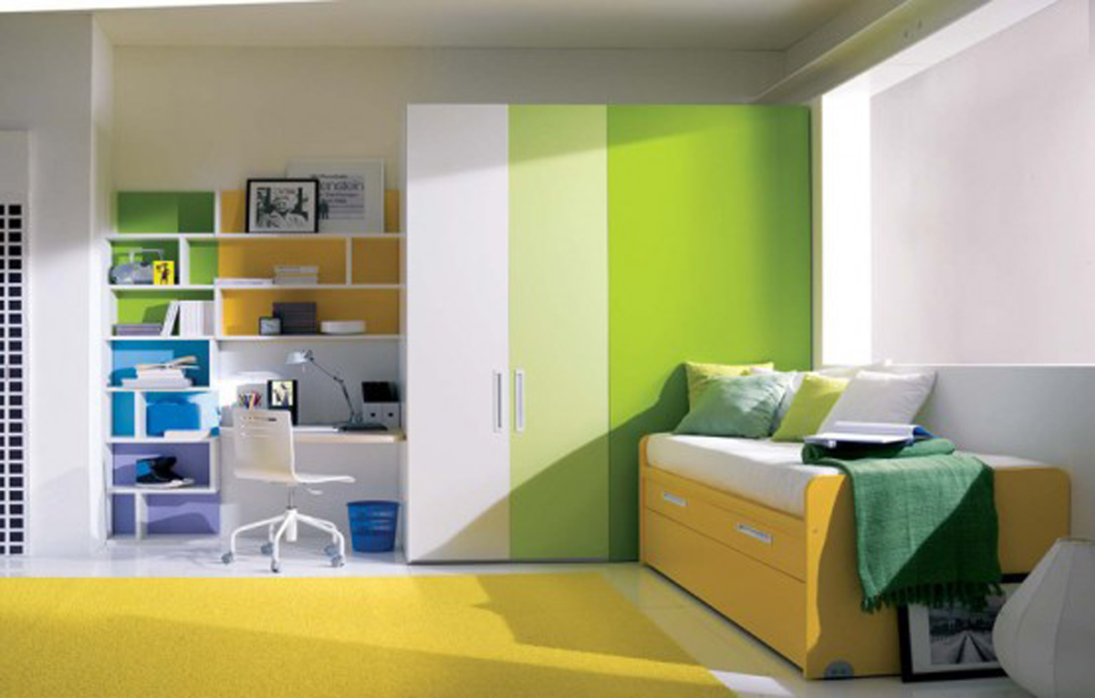 Bedroom Ideas For Teenage Girls Green teenage room decor ideas | my decorative