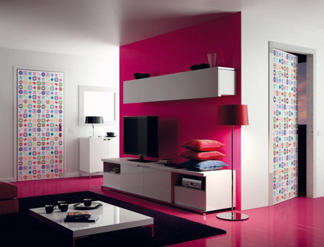 Modern Colorful Doors
