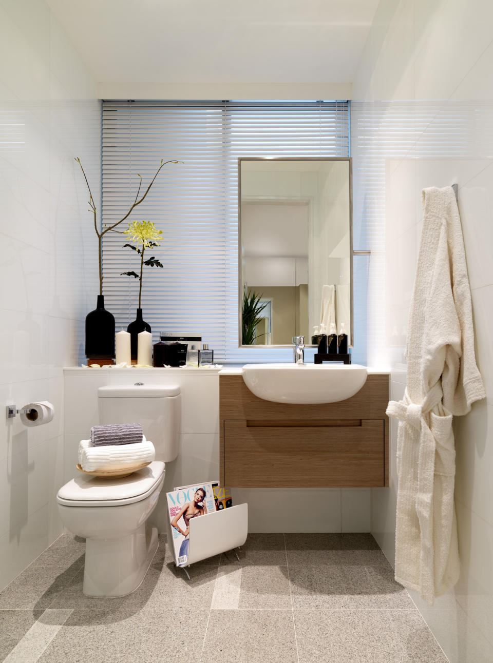 Simple and easy tips for doing up your bathroom my for Small toilet interior design