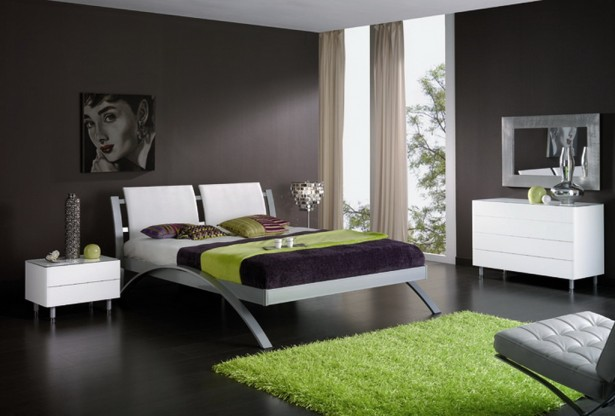Sharp bedroom design
