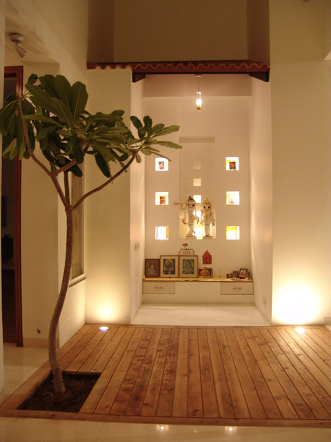 Contemporary Pooja Room