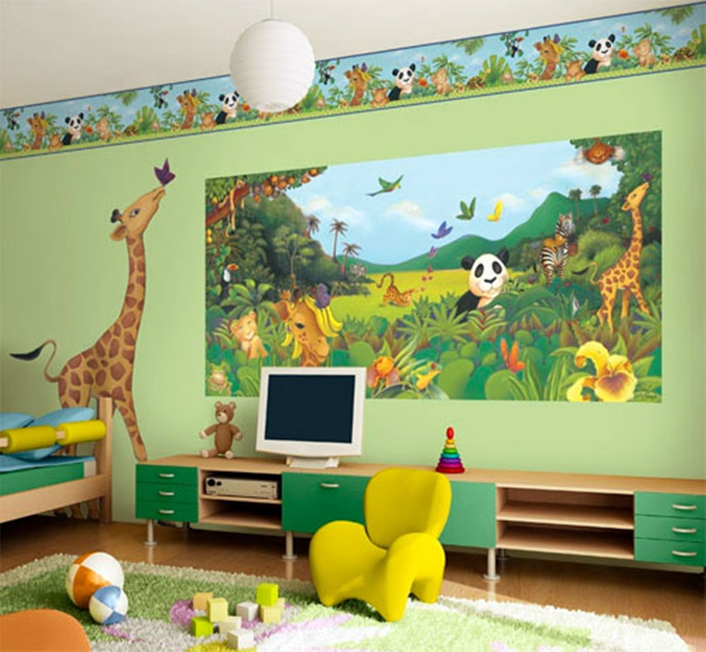 Kids Room Wall Design: Wall Art Décor Ideas For Kids Room