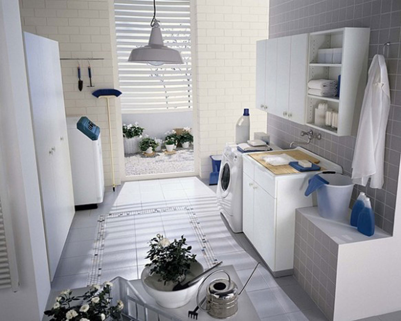 Tips to design bathroom laundry room my decorative for Utility room design