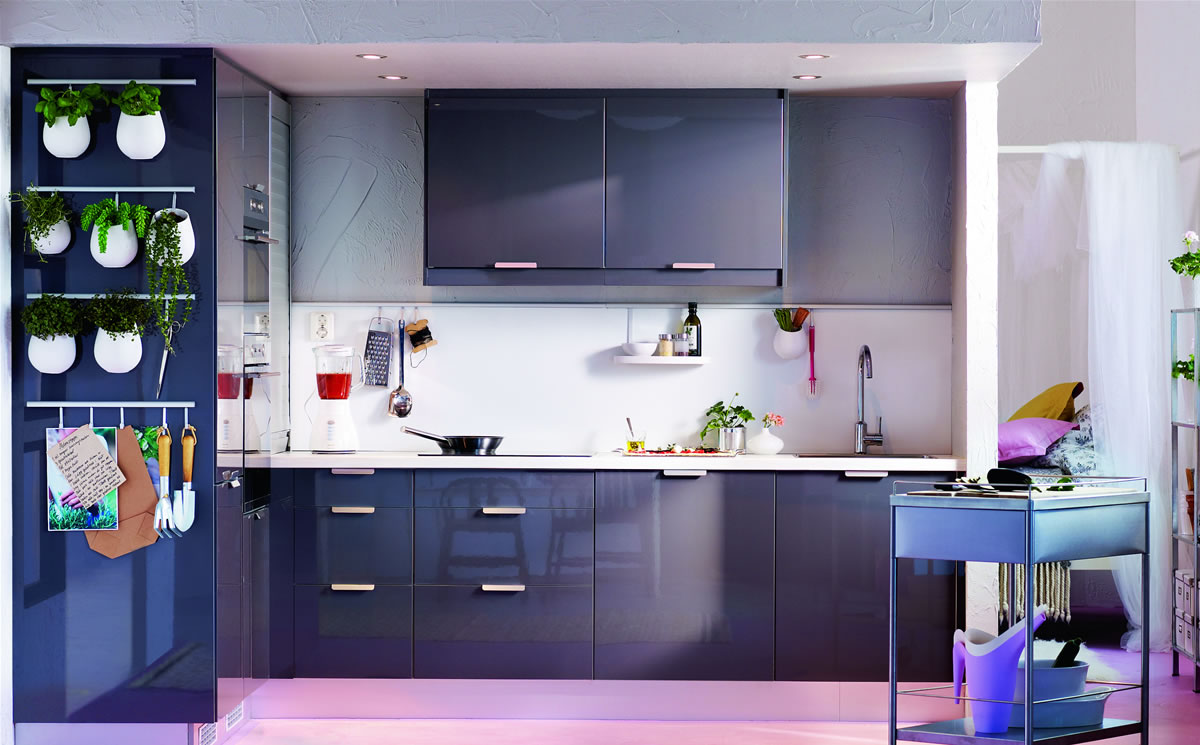 Kitchen Cabinet Designs For Small Kitchens In India