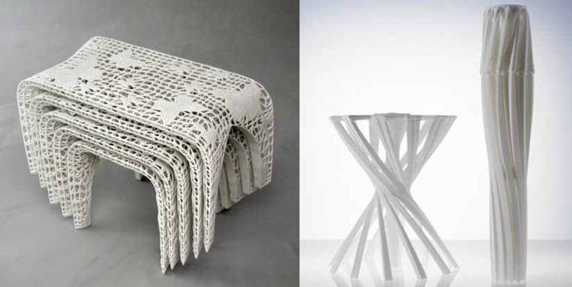 3D Printed Furniture Sets