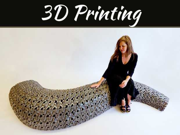 3D Printing For High Tech Interior Designing