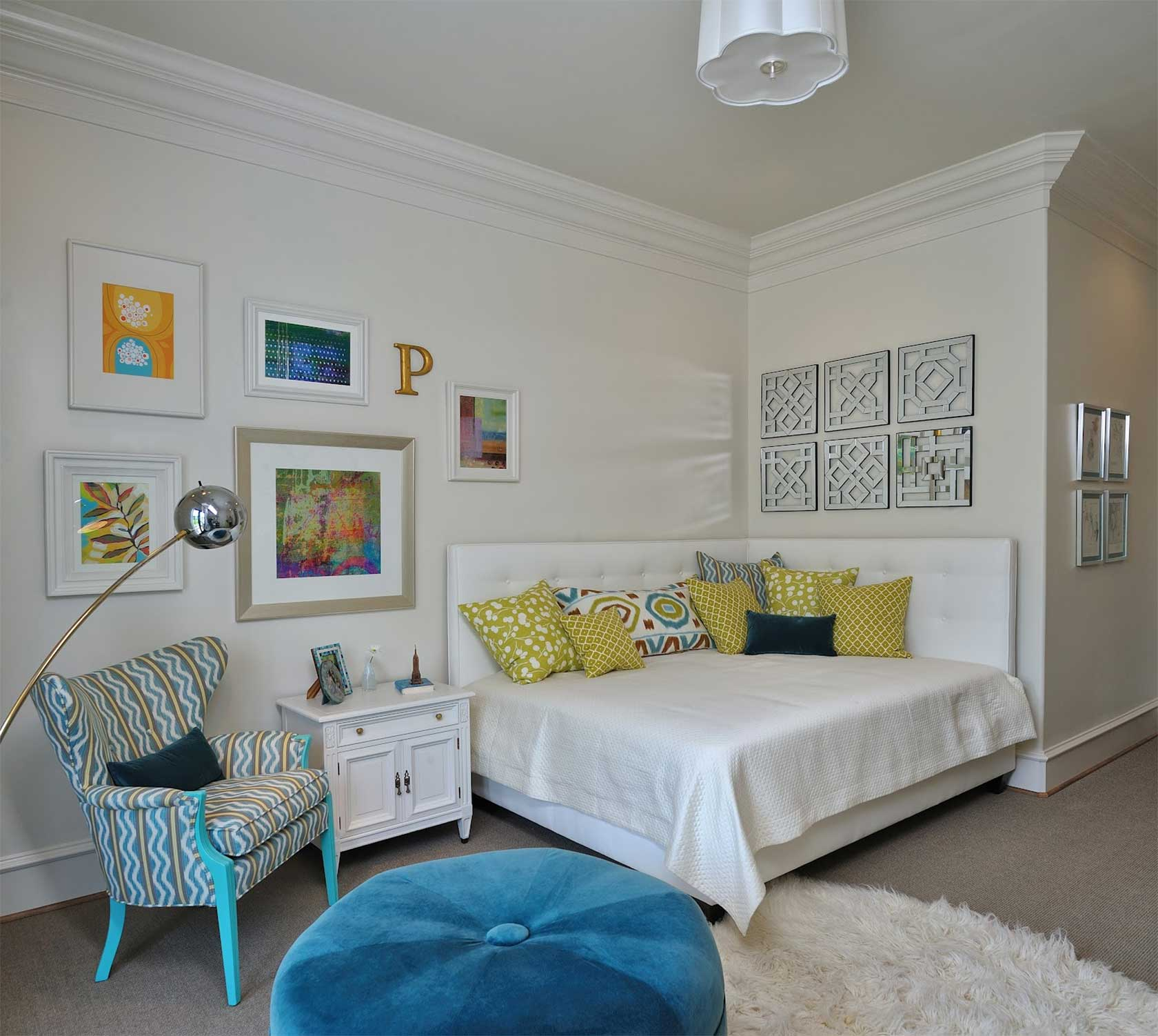 Corner Bed Design