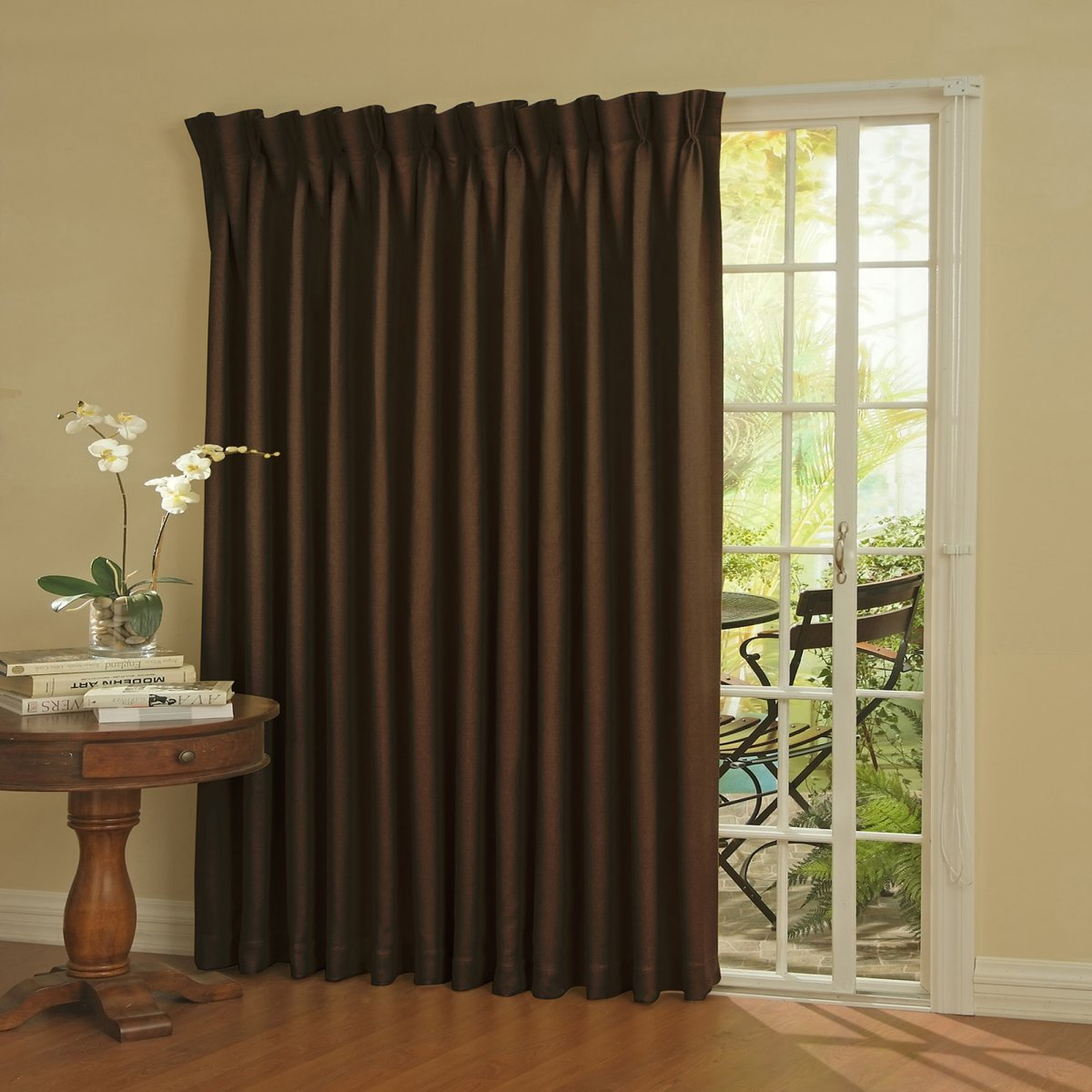 Curtains for sliding glass doors for Sliding glass doors curtains