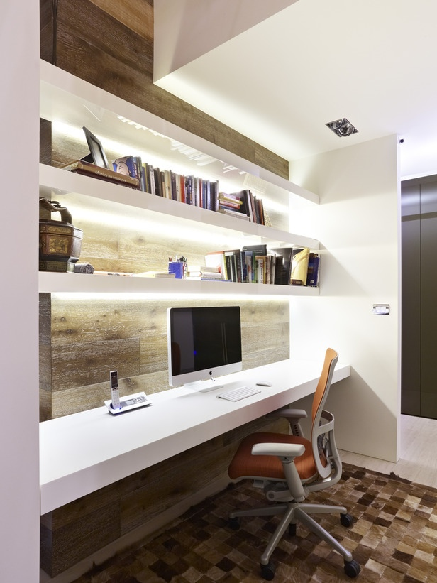 Workspaces Neutral Modern Home Office Decor