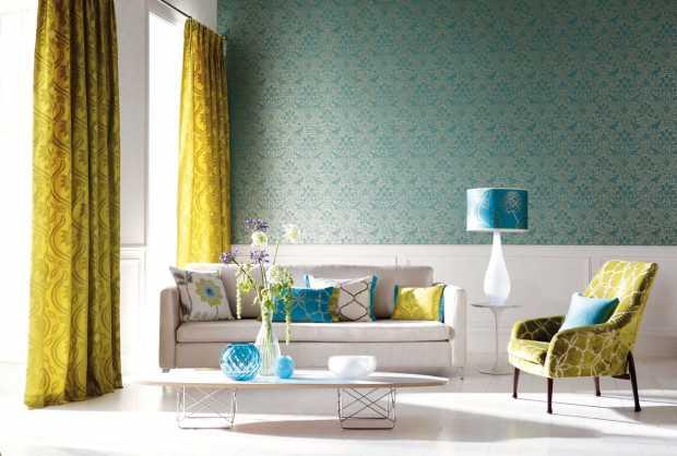 Beautiful Blue Green Home Design