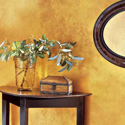 Golden Wall Color