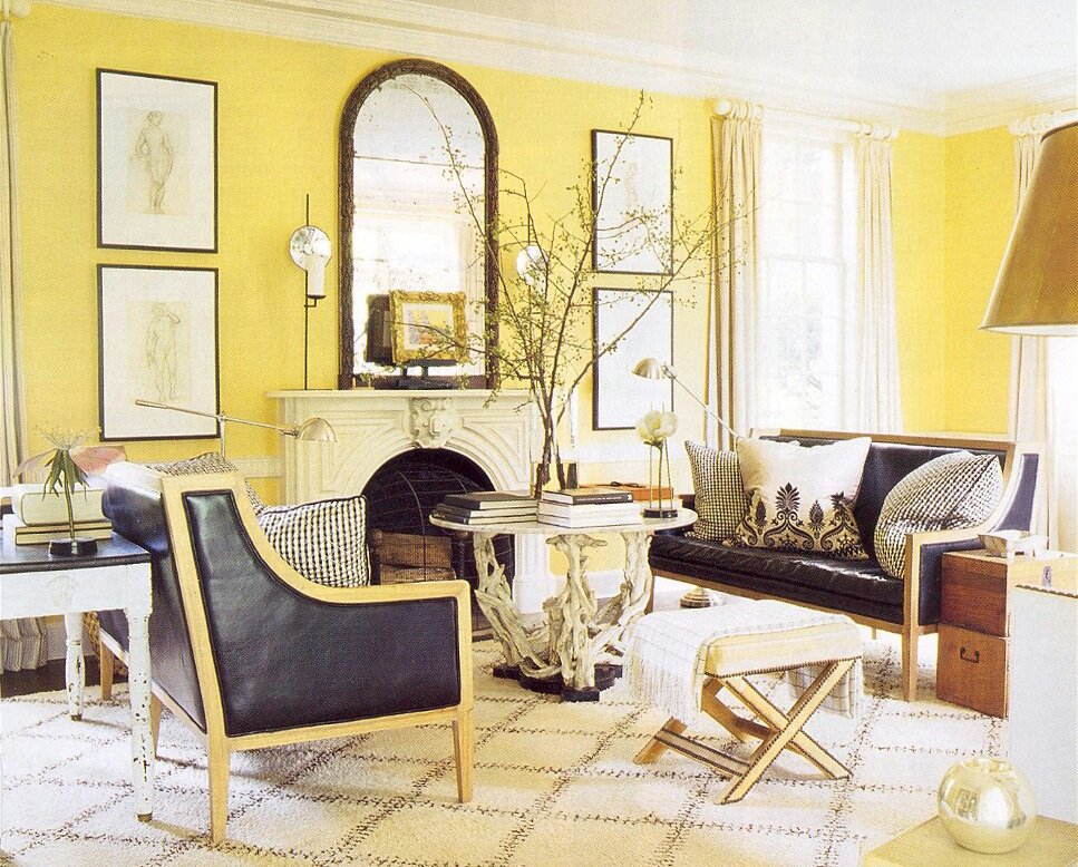 Inspirational Yellow Living Room Design Part 90