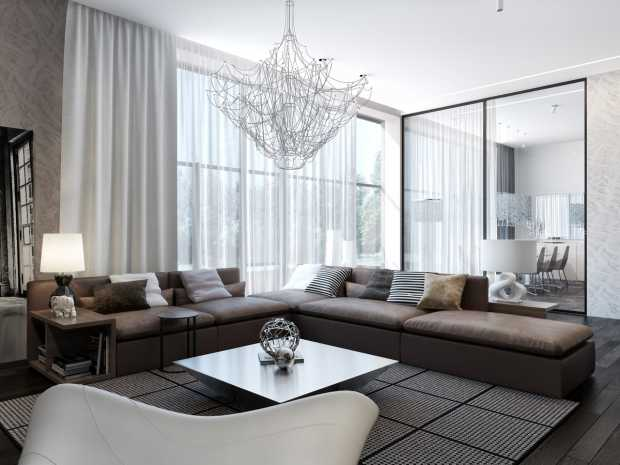 Modern Neutral Living Room