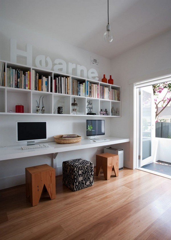 Modern Workspace At Home