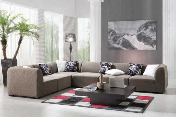 Nice Contemporary Living Room Design