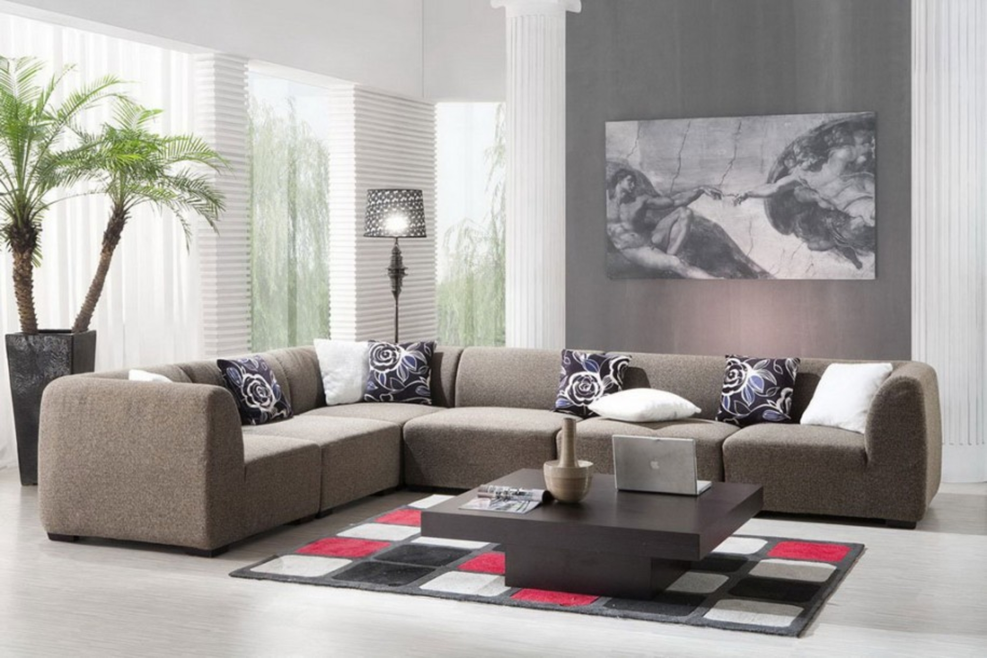 contemporary living room decorations | my decorative