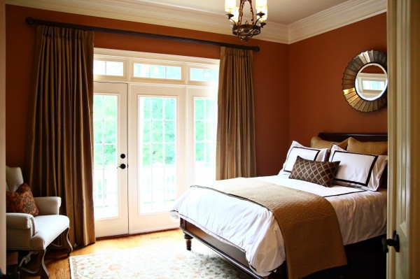 Orange Bedroom Design Ideas