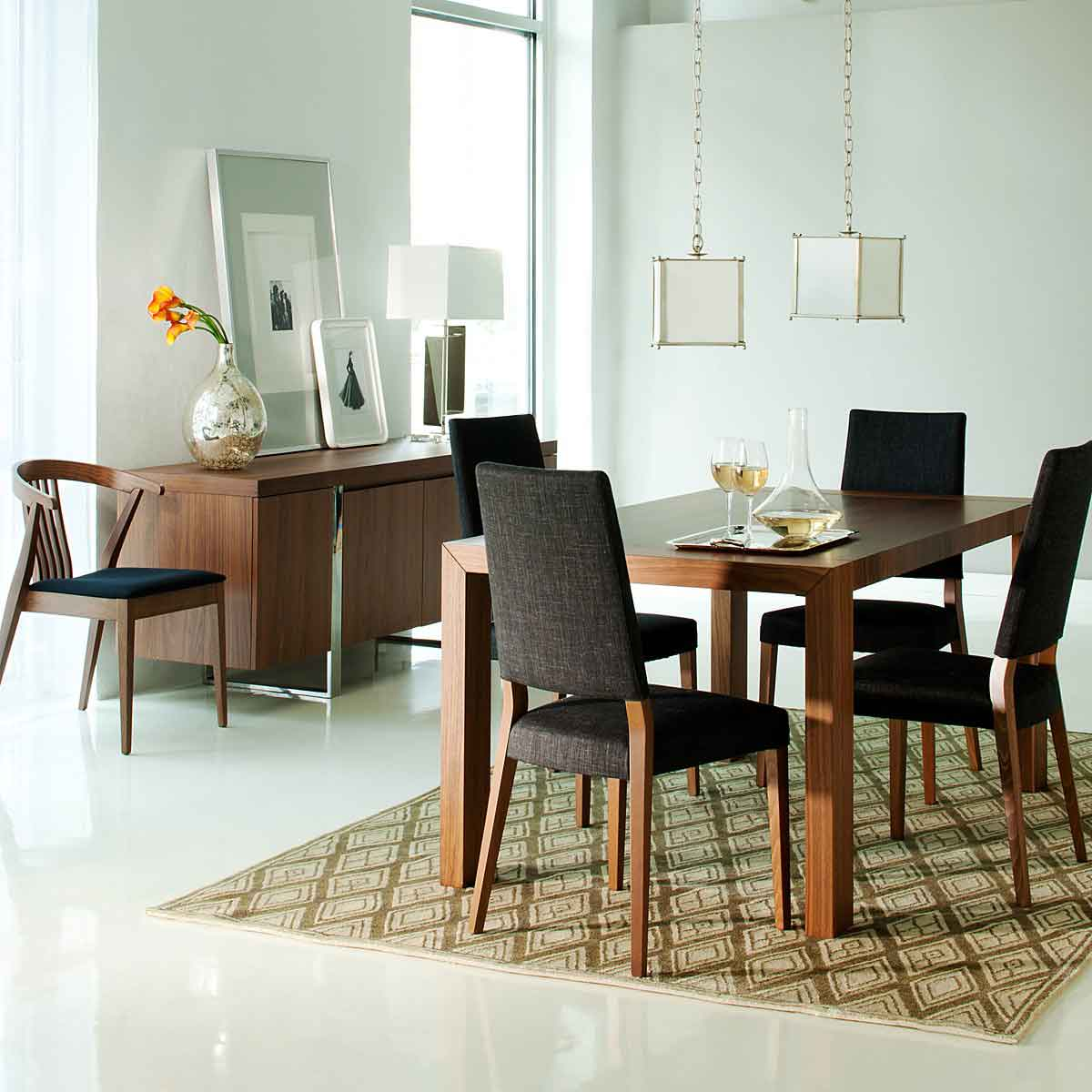 Modern dining room design ideas - Simple Modern Dining Room Interior Design Ideas