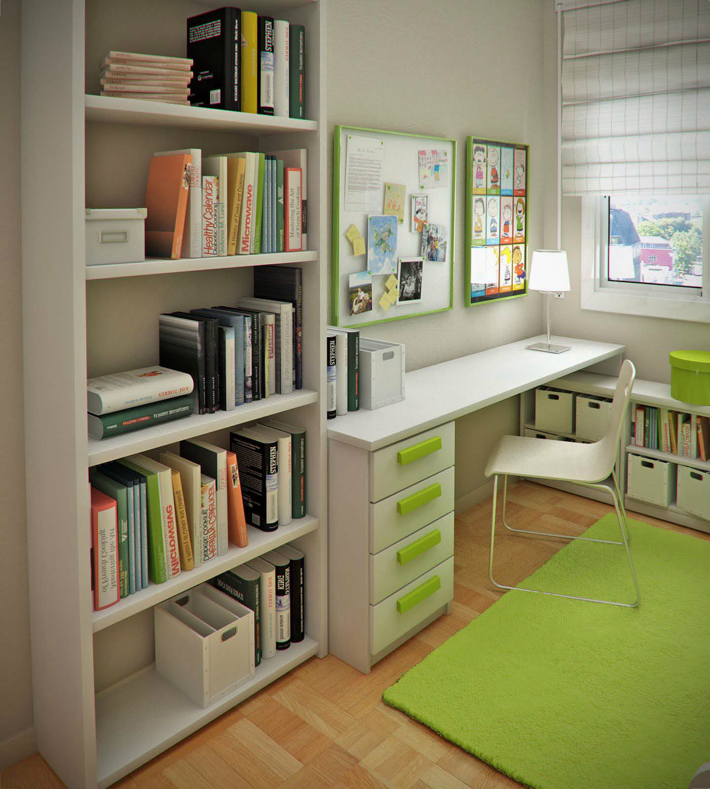 Study Room Furniture Ideas: Feng Shui For Study Room