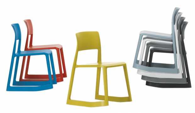 Vitra Tip Ton Final Chairs