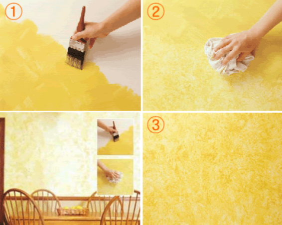 Wall Sponging Design Techniques