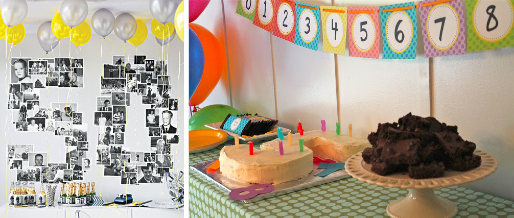 Birthday Number Theme Decoration