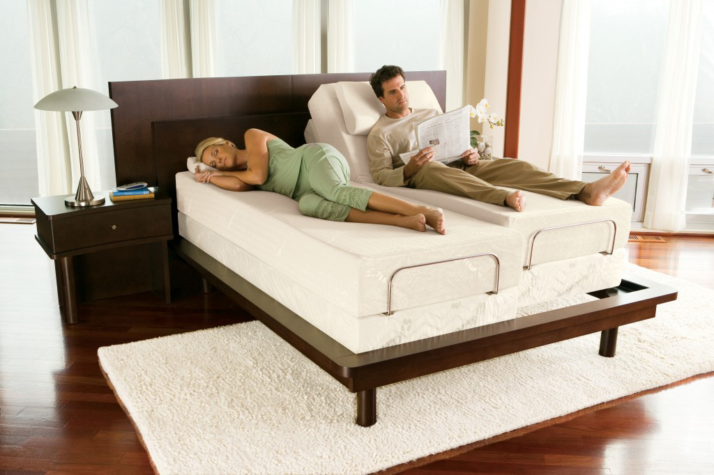Couple Sleeping on Mattress