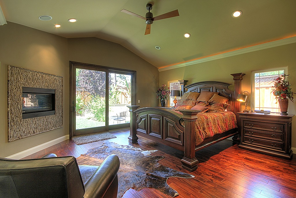 Eclectic Master Bedroom Design