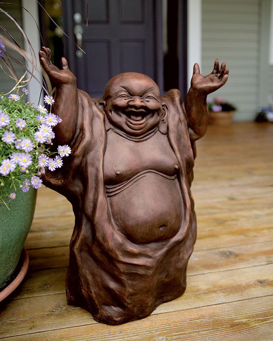Laughing Buddha Brown