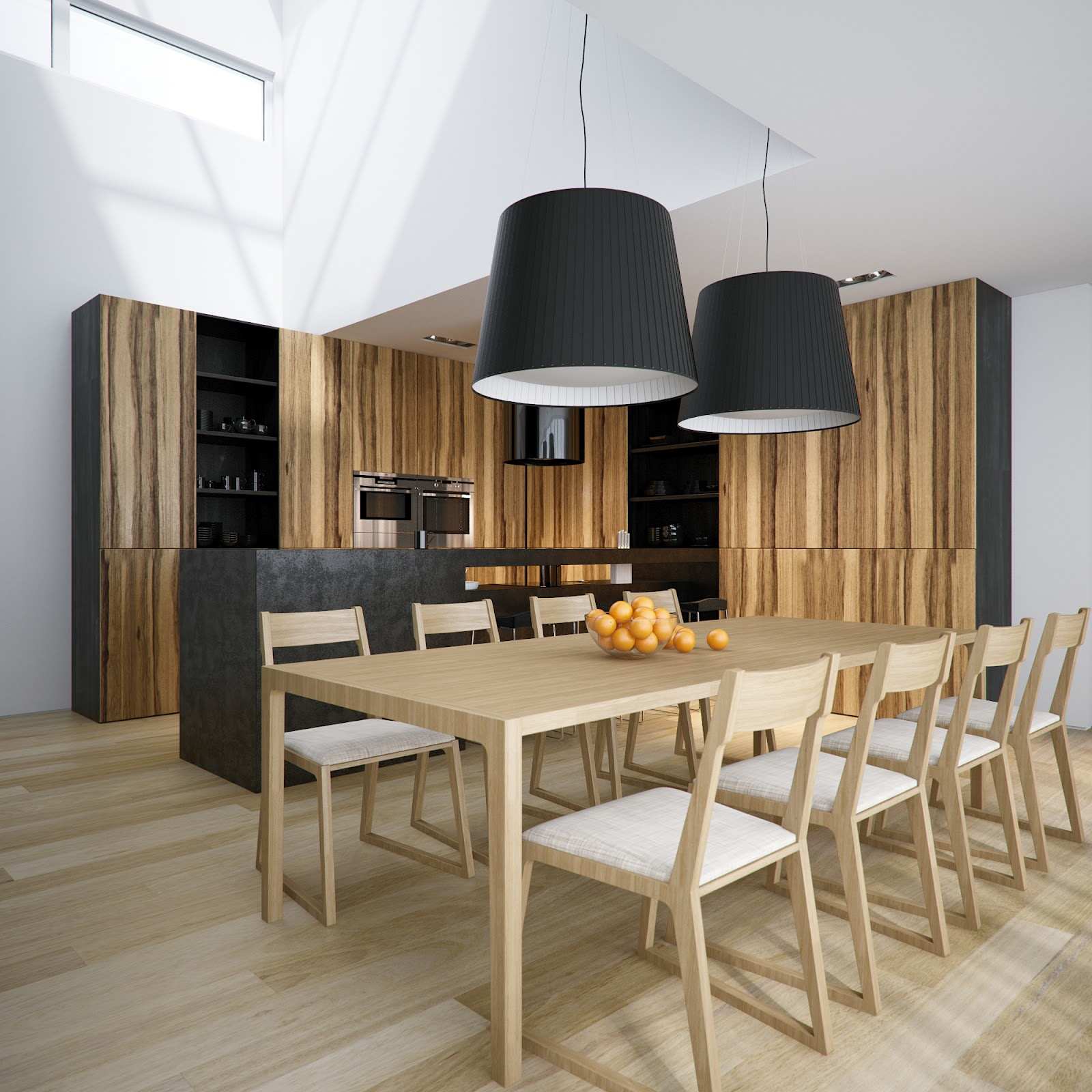 Ideas For Exquisite Built-In Kitchen Tables