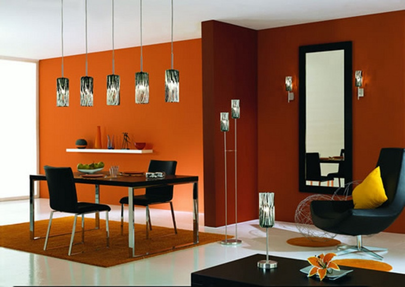 home décor in orange | my decorative