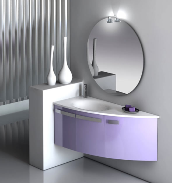Modern Bathroom Design Ideas with Mirrors Luna