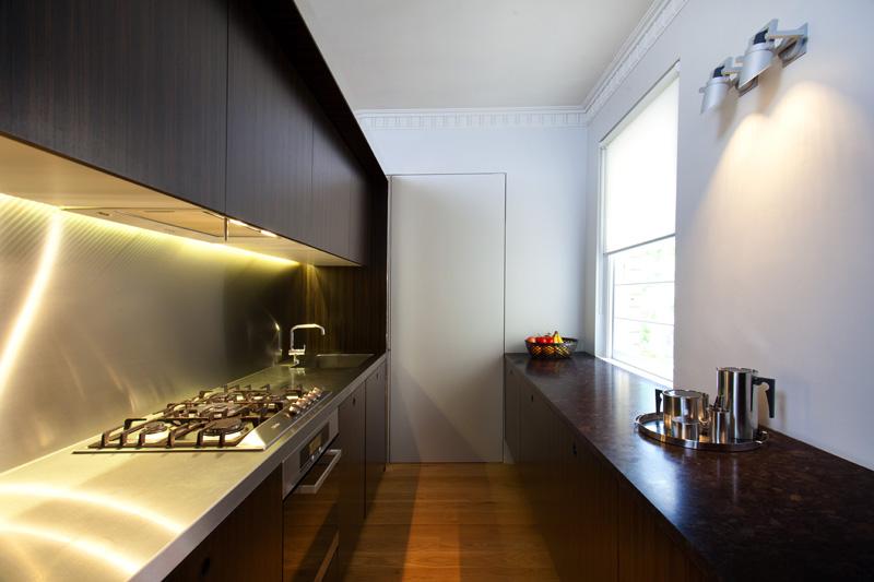 Modern Sleek Kitchen Lighting