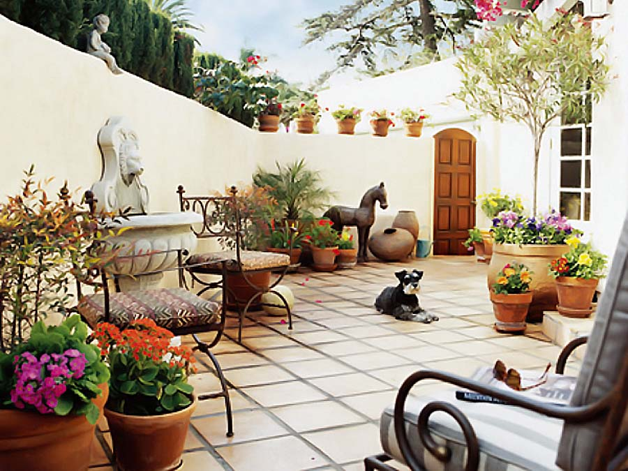Magic of terracotta for your d cor my decorative for Garden accessories online