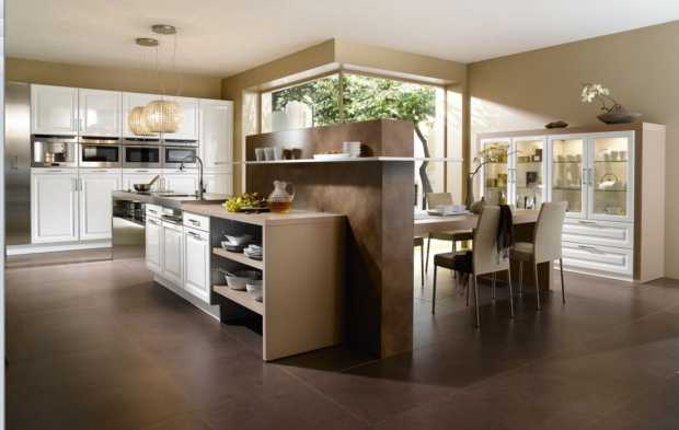 Toronto transitional style built-in kitchen