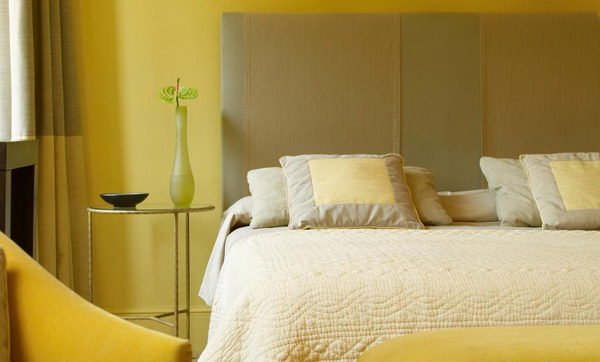 Yellow Bedroom Color Scheme