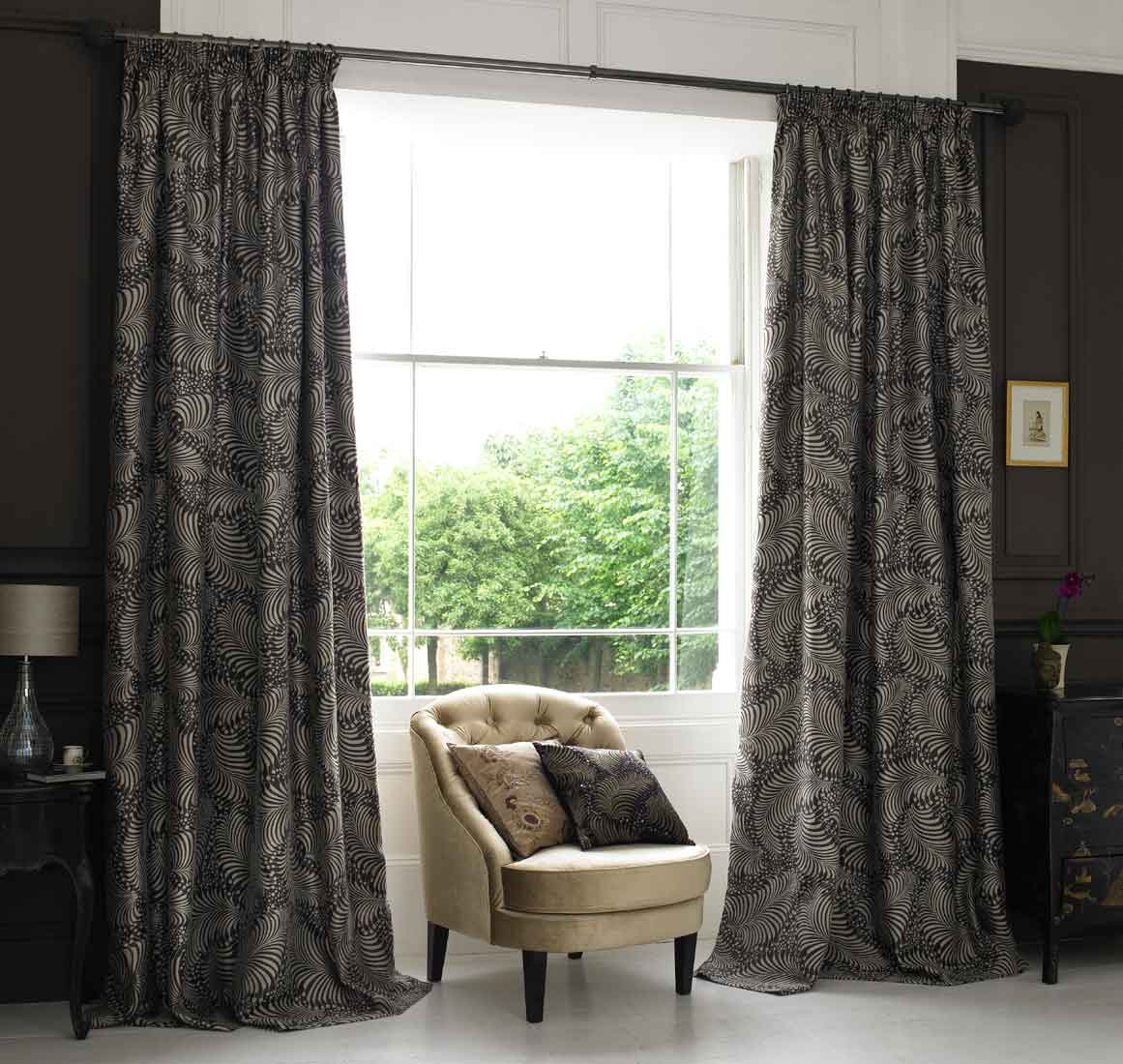 Also you will need to decide what length your new curtains will be -floor  length or sill length. Floor length curtains should just skim the floor  while sill ...