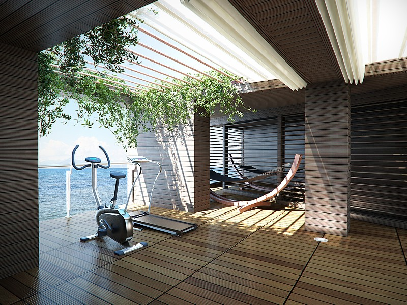 Create perfect space for workout at home my decorative