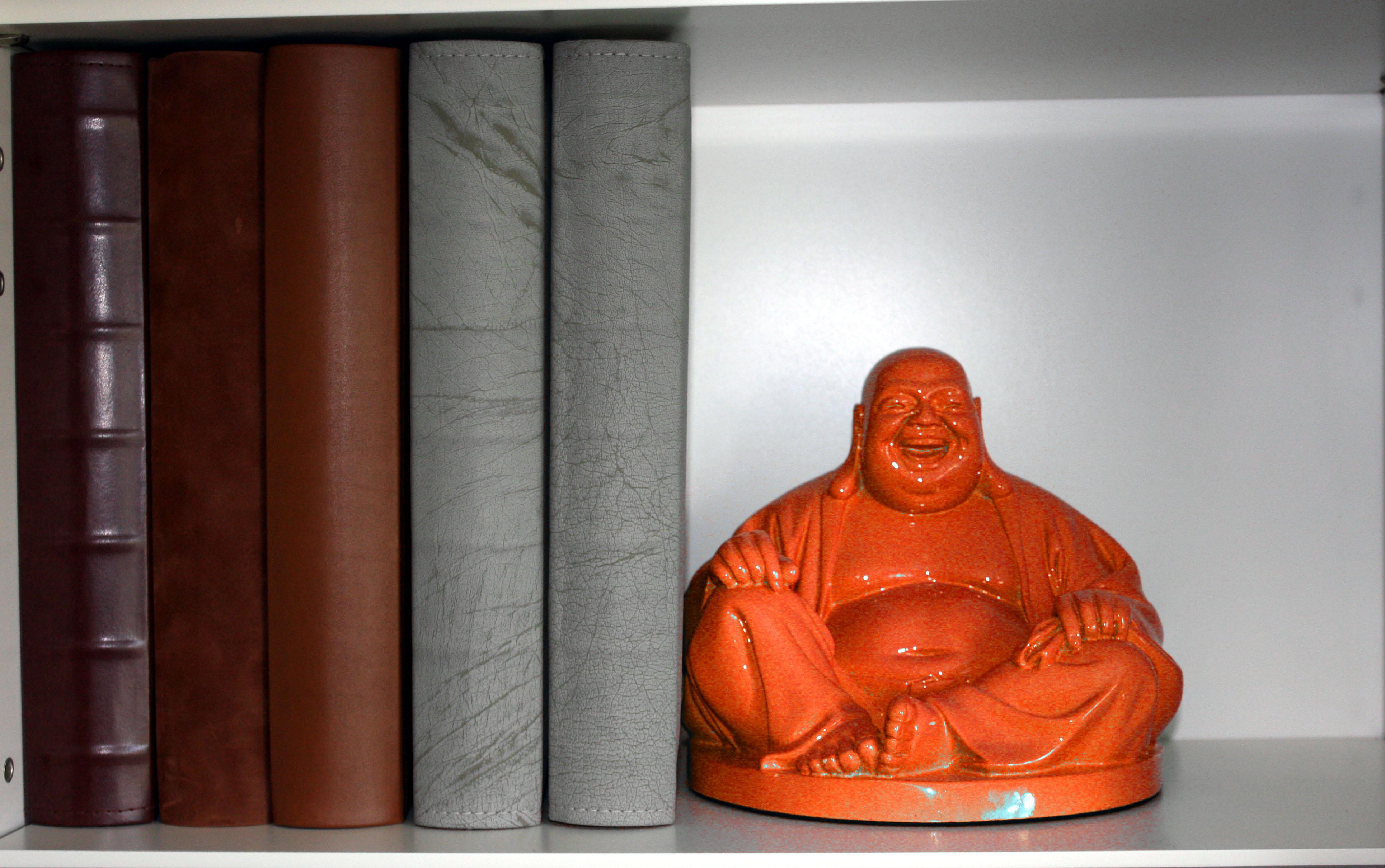 Laughing Buddha Orange