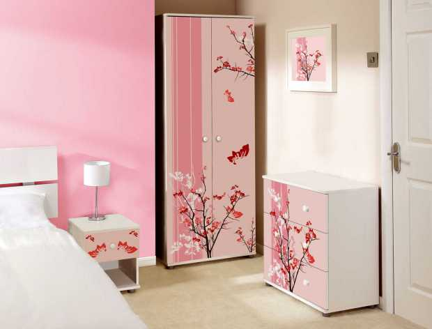 Light Pink Bedroom Design Ideas