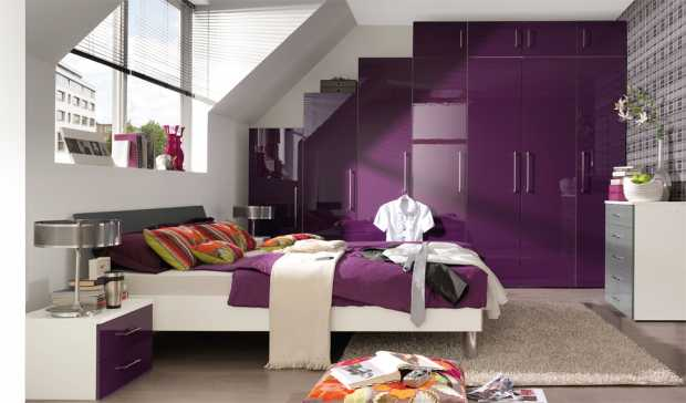 Purple Bedroom Furniture Ideas